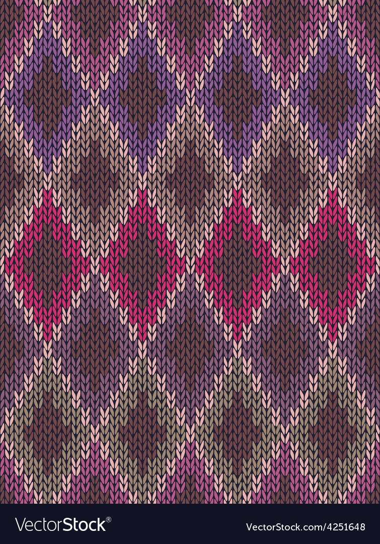 Seamless jacquard ornament vector | Price: 1 Credit (USD $1)