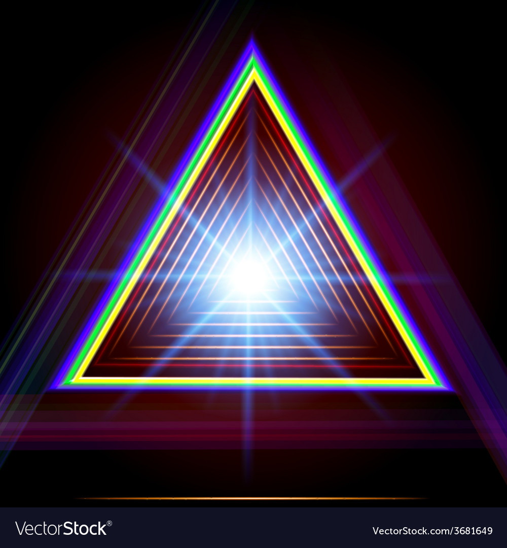 Abstract triangle techno background vector | Price: 1 Credit (USD $1)