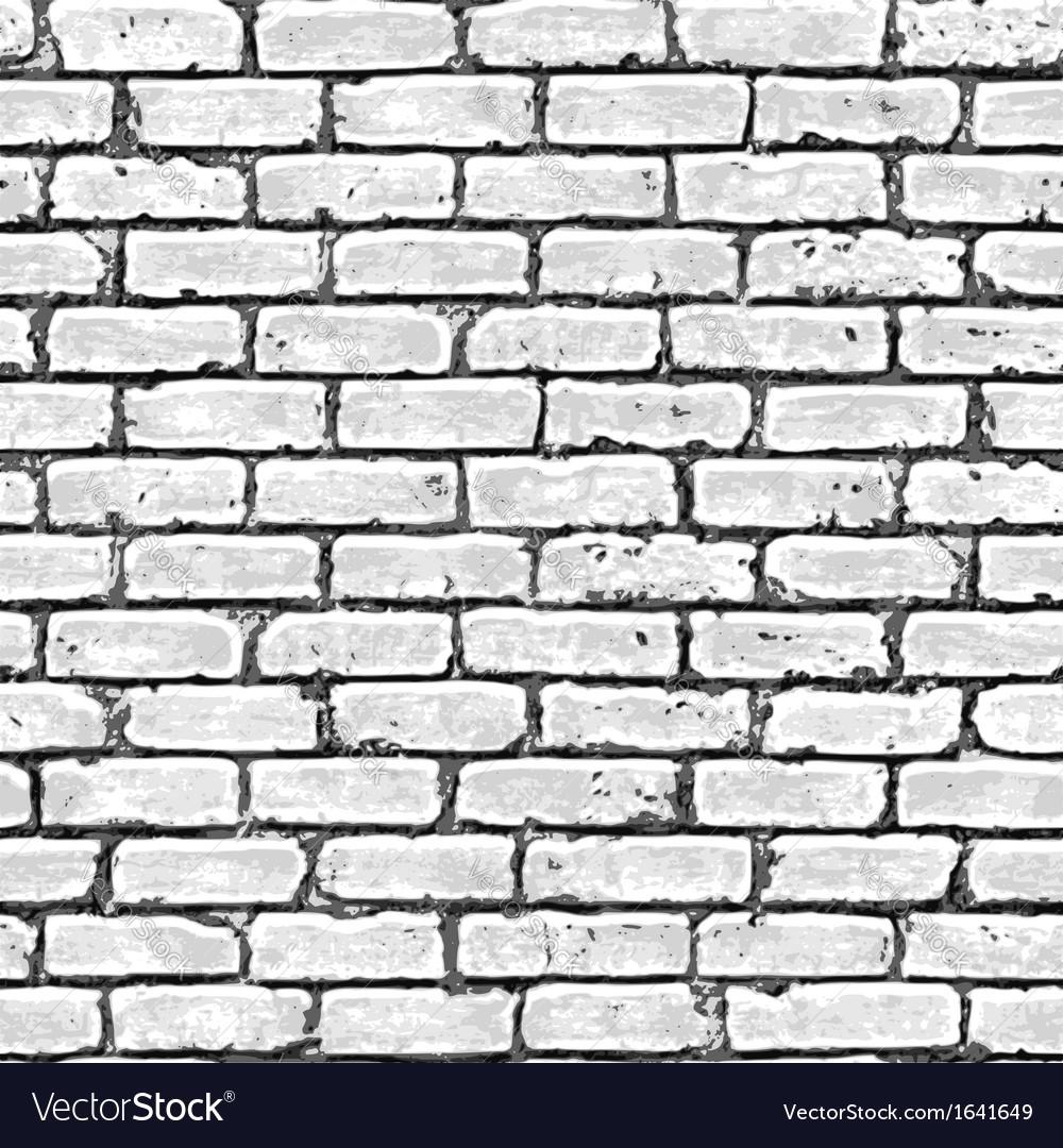Brick wall seamless pattern vector | Price: 1 Credit (USD $1)