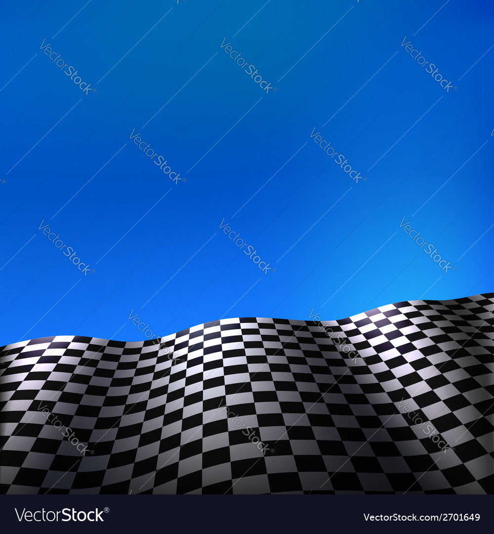 Checkered flag vector   Price: 1 Credit (USD $1)
