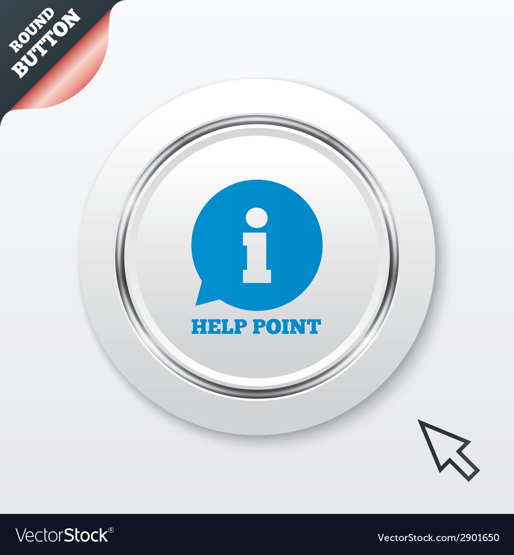 Help point sign icon information symbol vector | Price: 1 Credit (USD $1)