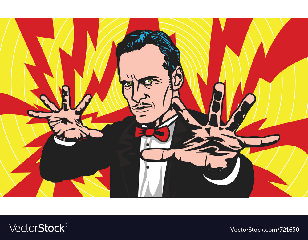 Magician vector | Price: 3 Credit (USD $3)