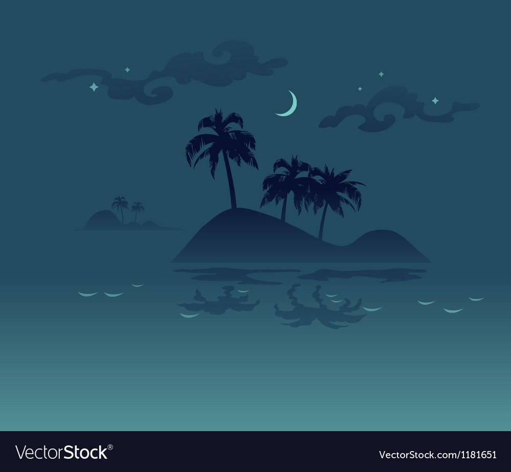 Abstract tropical background vector | Price: 1 Credit (USD $1)