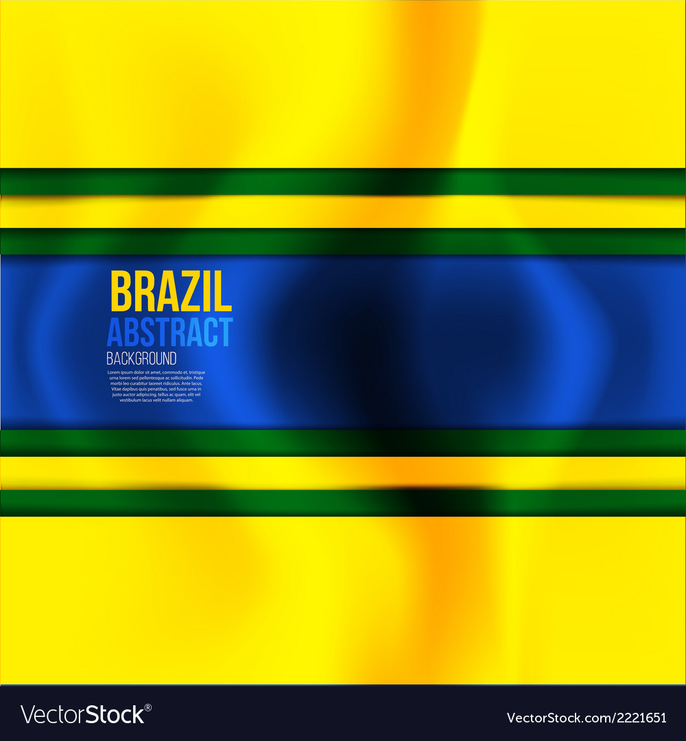 Brazil colors 2 vector | Price: 1 Credit (USD $1)