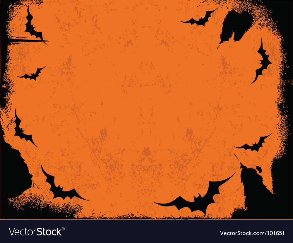 Halloween border vector   Price: 1 Credit (USD $1)