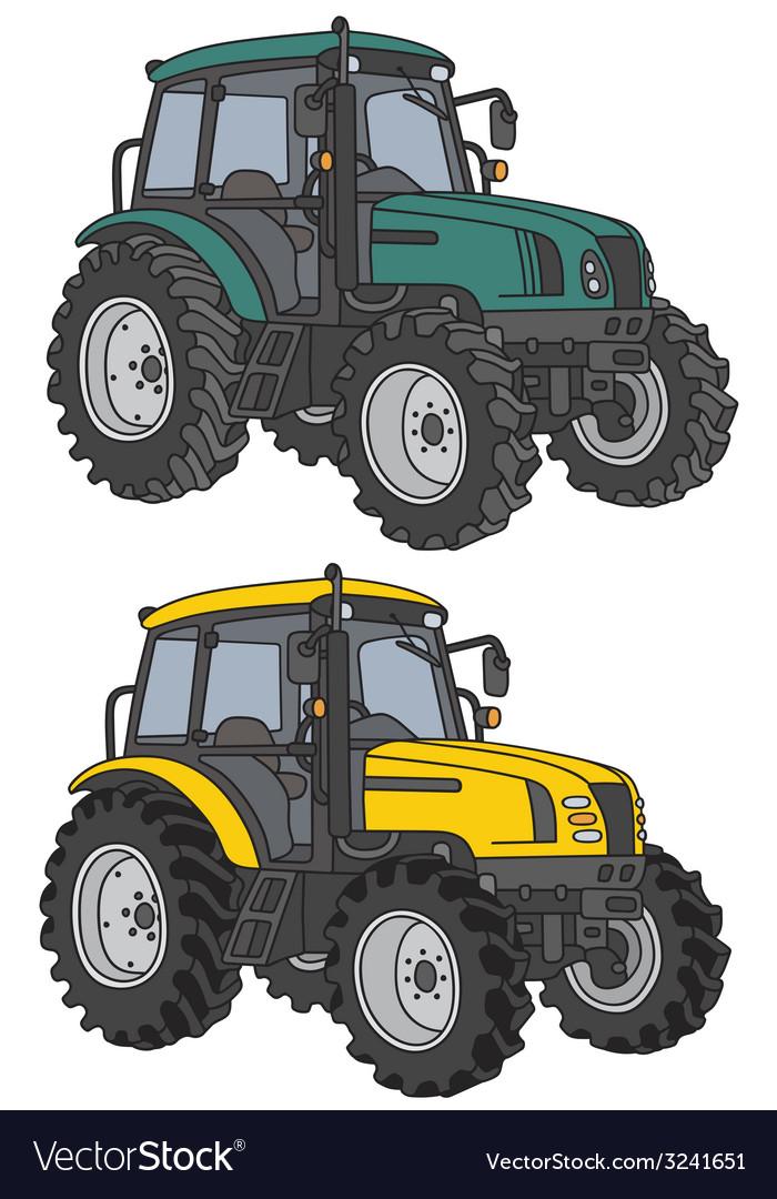 Tractors vector   Price: 1 Credit (USD $1)