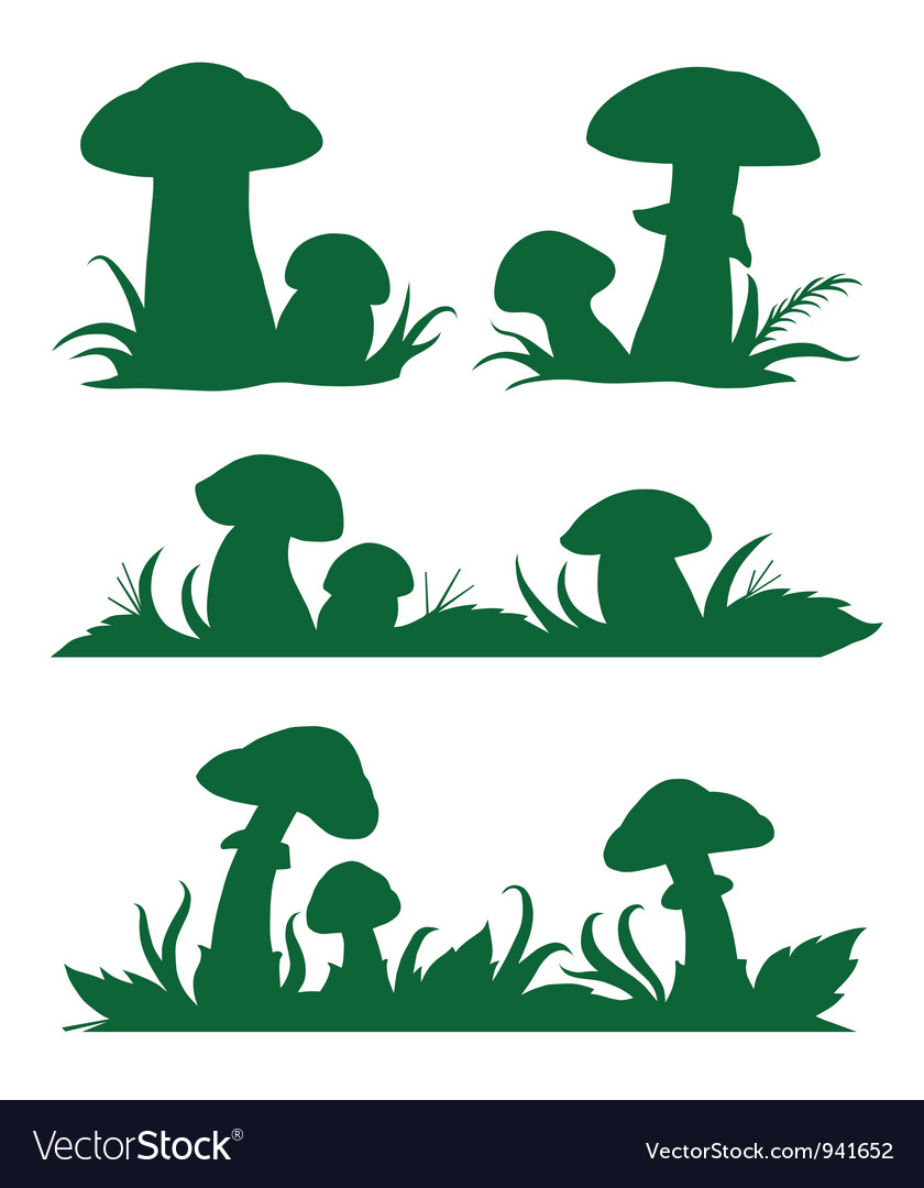 Mushrooms vector | Price: 1 Credit (USD $1)