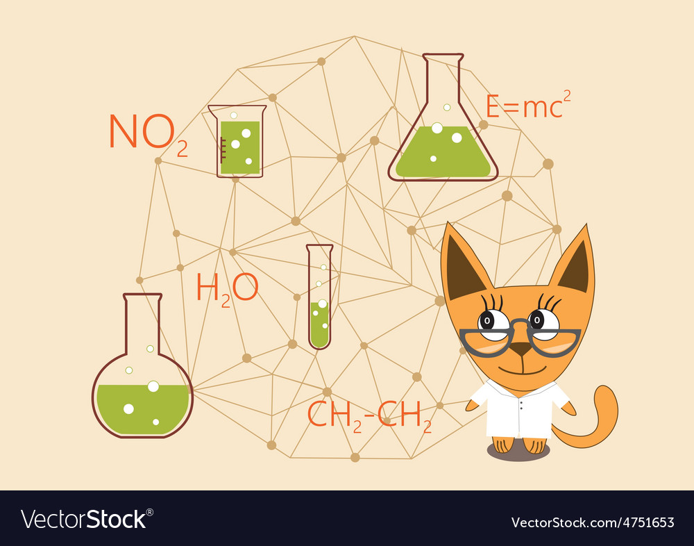 Science day day chemist vector | Price: 1 Credit (USD $1)