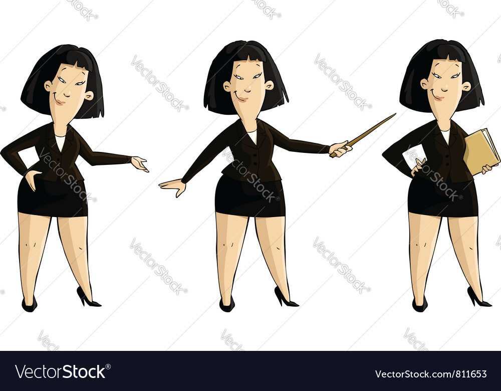 Three girls vector | Price: 1 Credit (USD $1)
