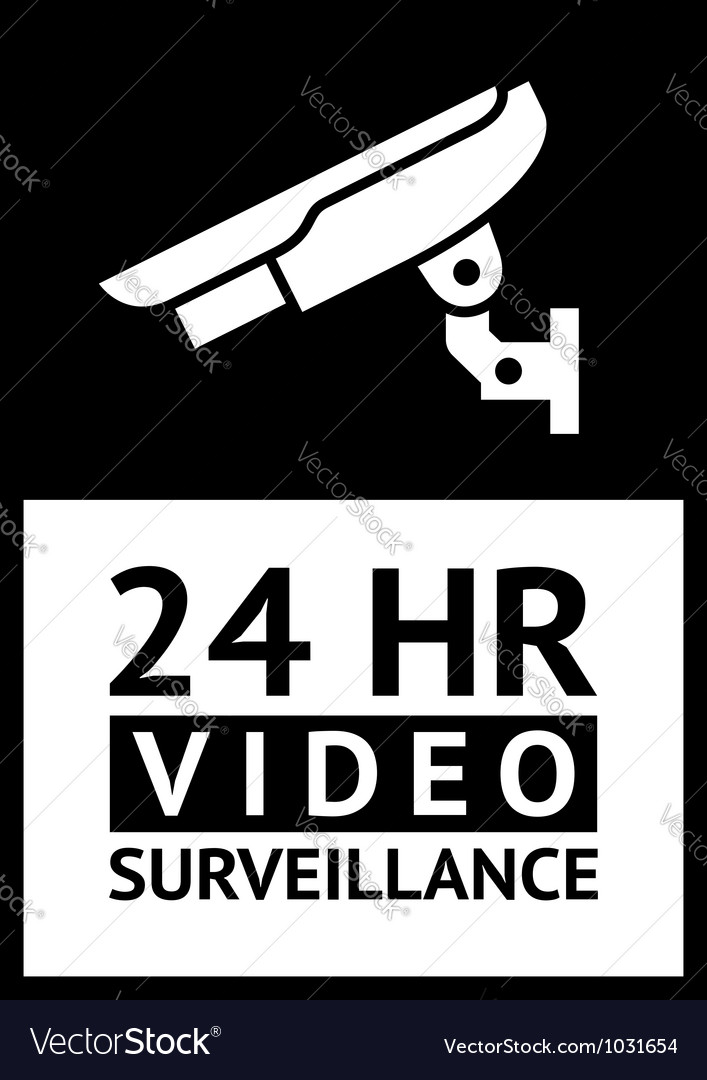 Label cctv vector | Price: 1 Credit (USD $1)