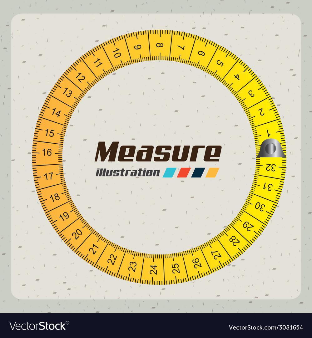 Measuringdesign vector | Price: 1 Credit (USD $1)