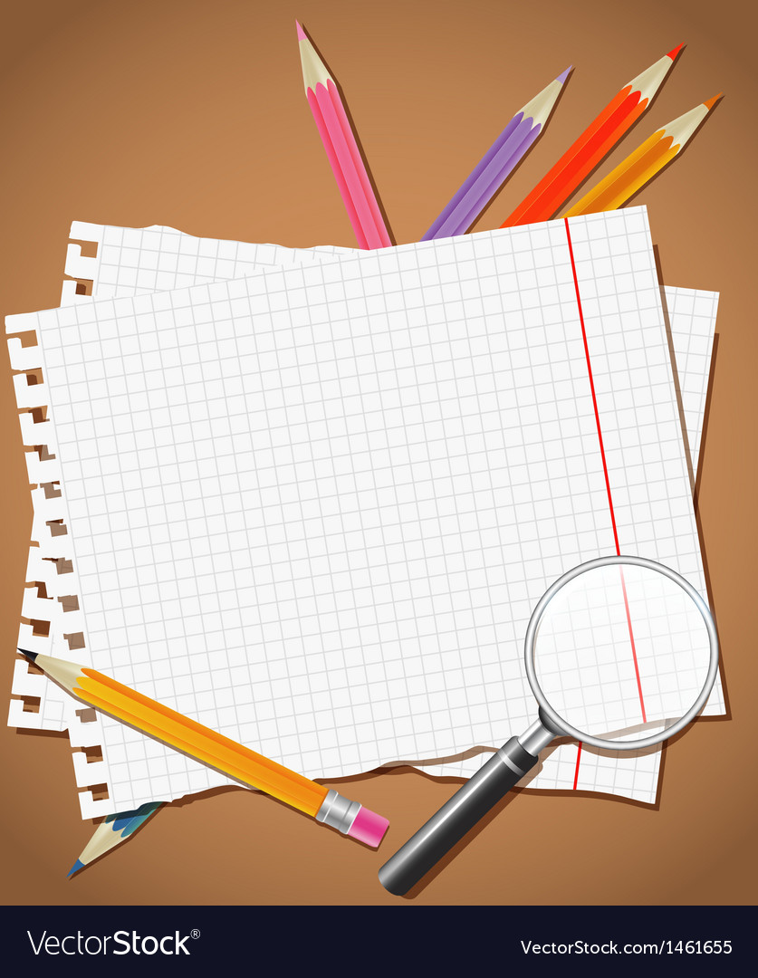 Back to school background or card vector | Price: 1 Credit (USD $1)
