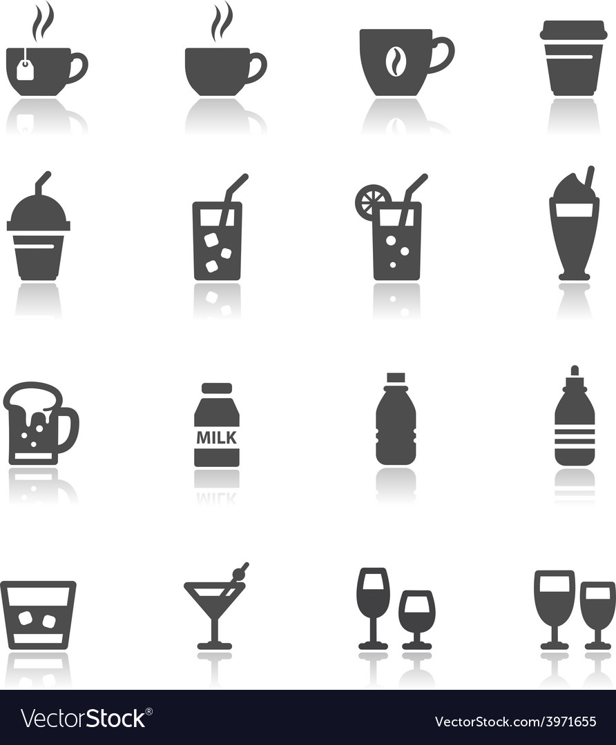 Drink and beverages vector | Price: 1 Credit (USD $1)
