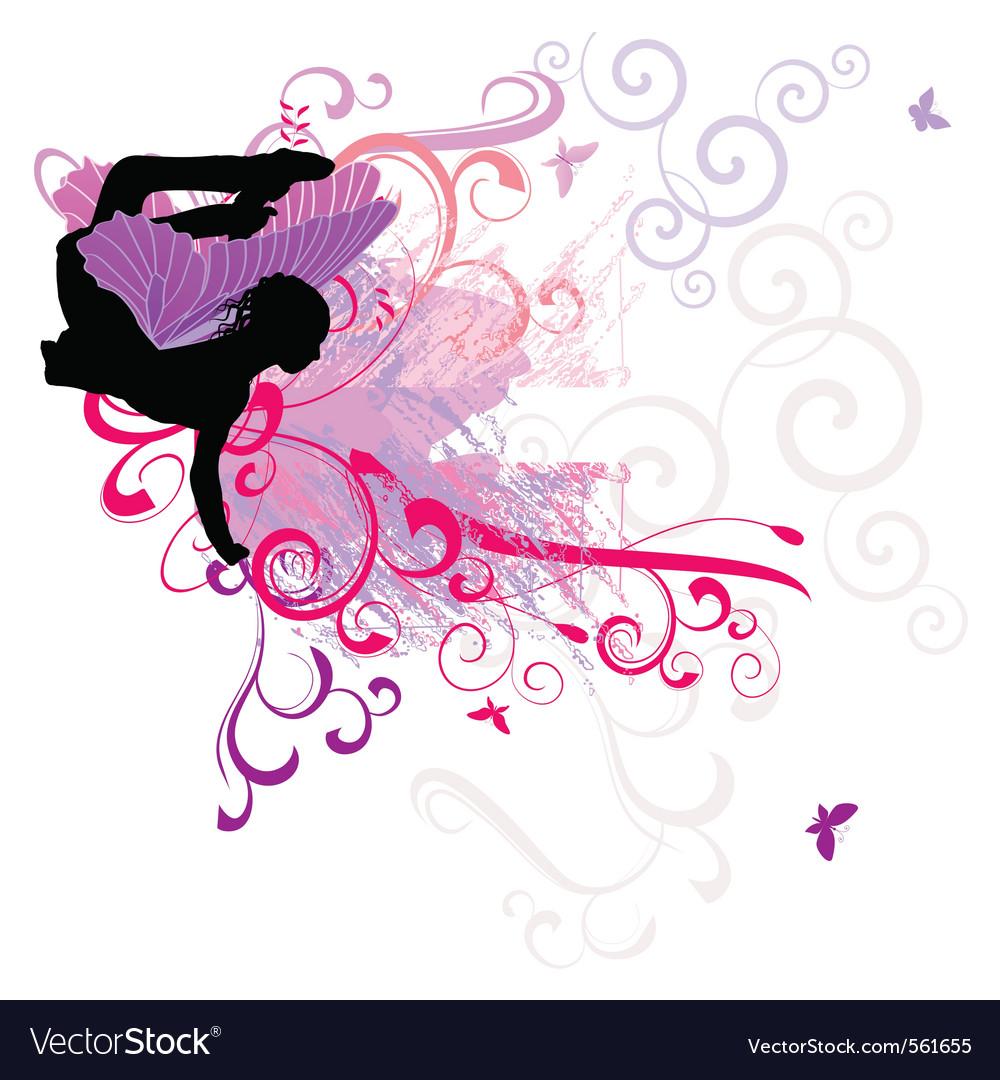 Fairy flourishes vector | Price: 1 Credit (USD $1)