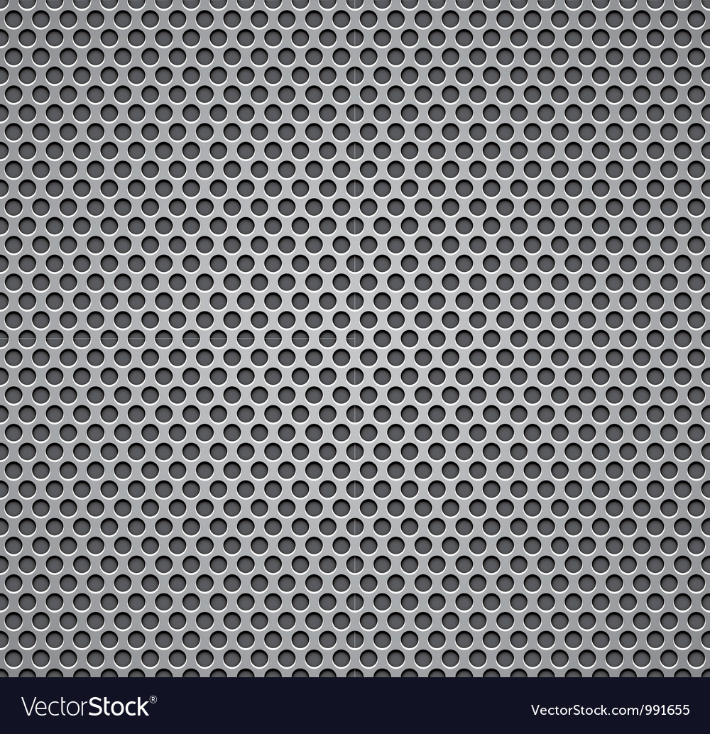 Metal grill seamless pattern vector