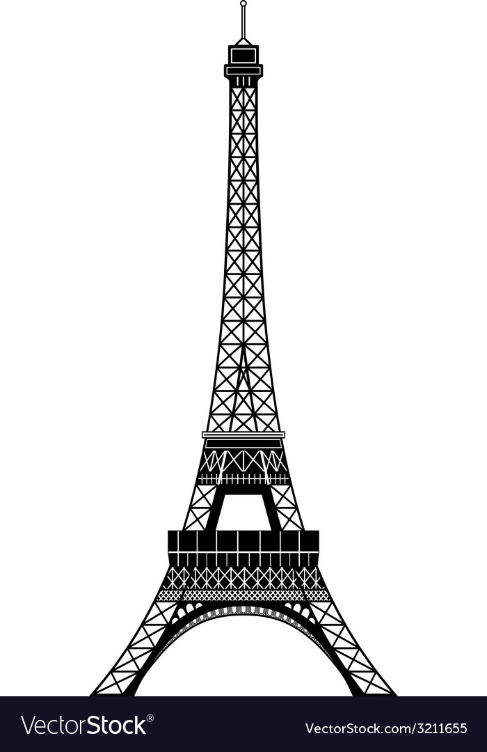 Tour eiffel vector | Price: 1 Credit (USD $1)