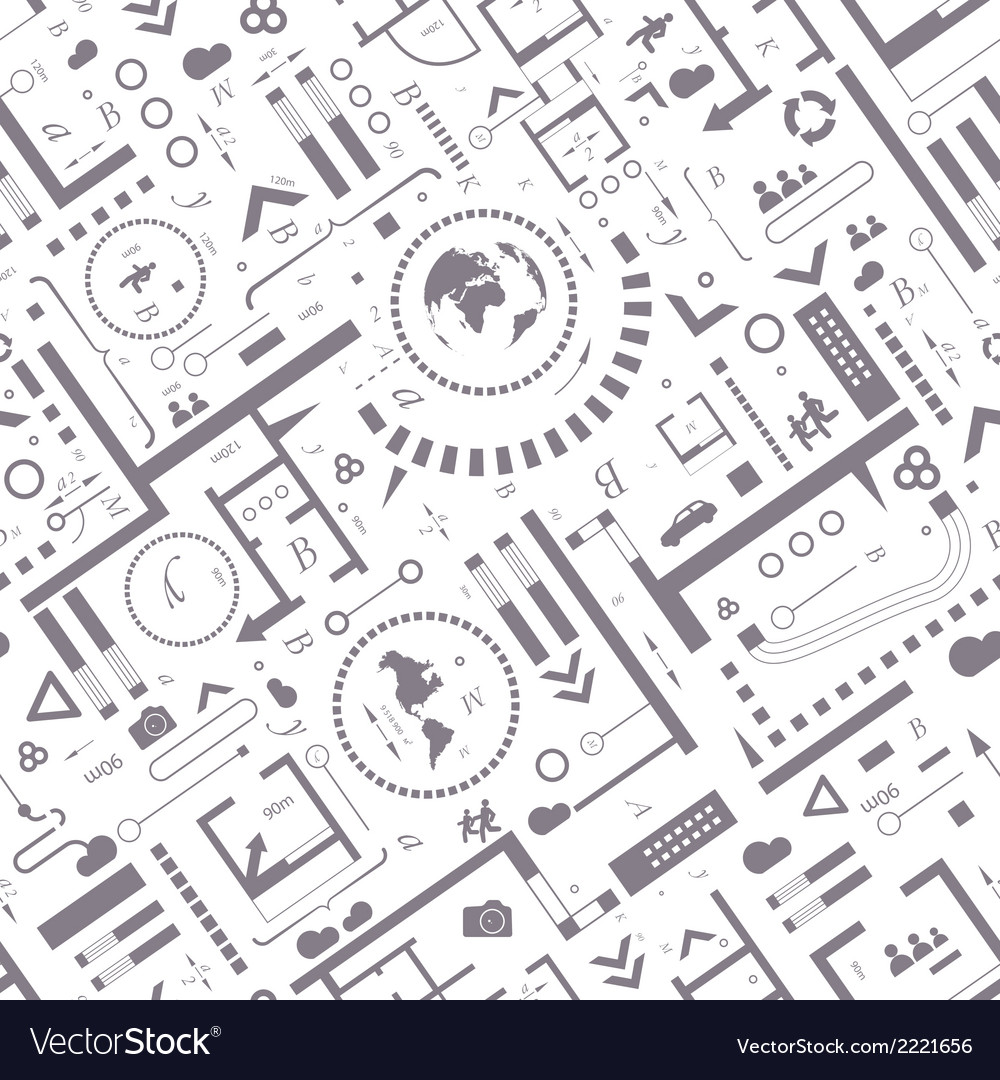 Abstract architectural vector | Price: 1 Credit (USD $1)