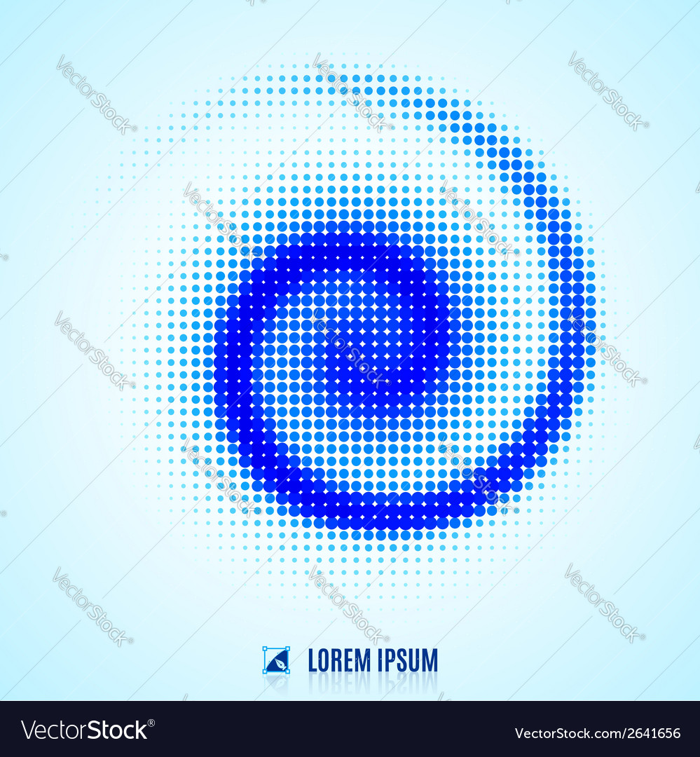 Abstract background with spiral vortex vector | Price: 1 Credit (USD $1)