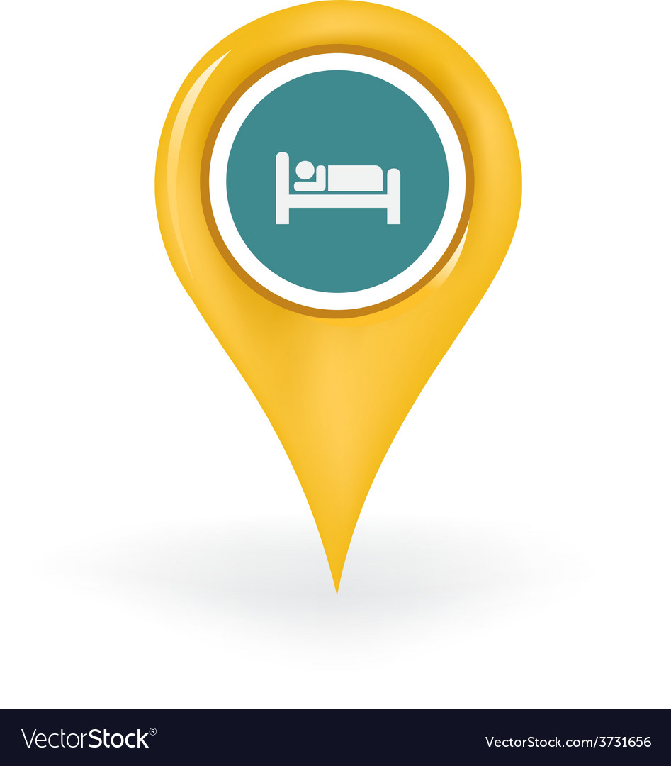 Accommodation location vector | Price: 1 Credit (USD $1)