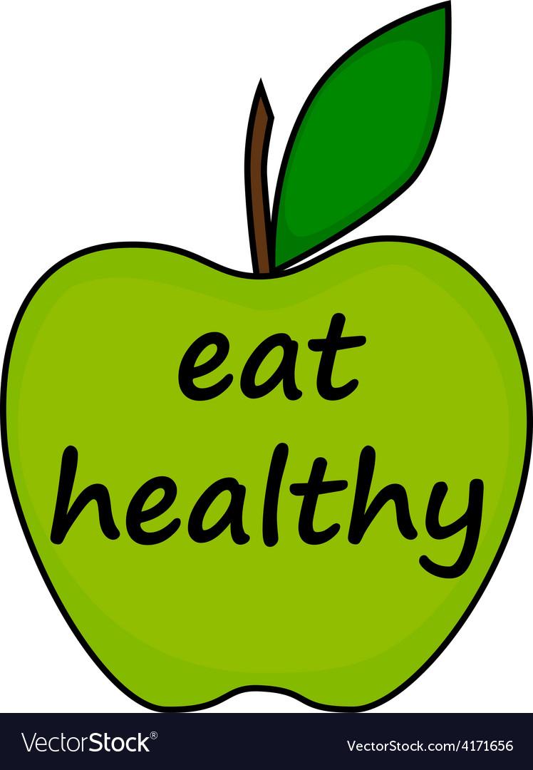 Healthy vector | Price: 1 Credit (USD $1)
