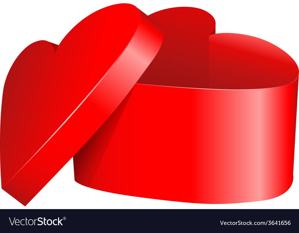 Heart gift vector | Price: 1 Credit (USD $1)
