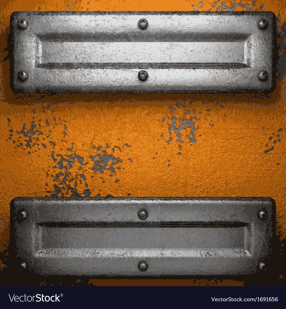 Old metal background vector | Price: 1 Credit (USD $1)