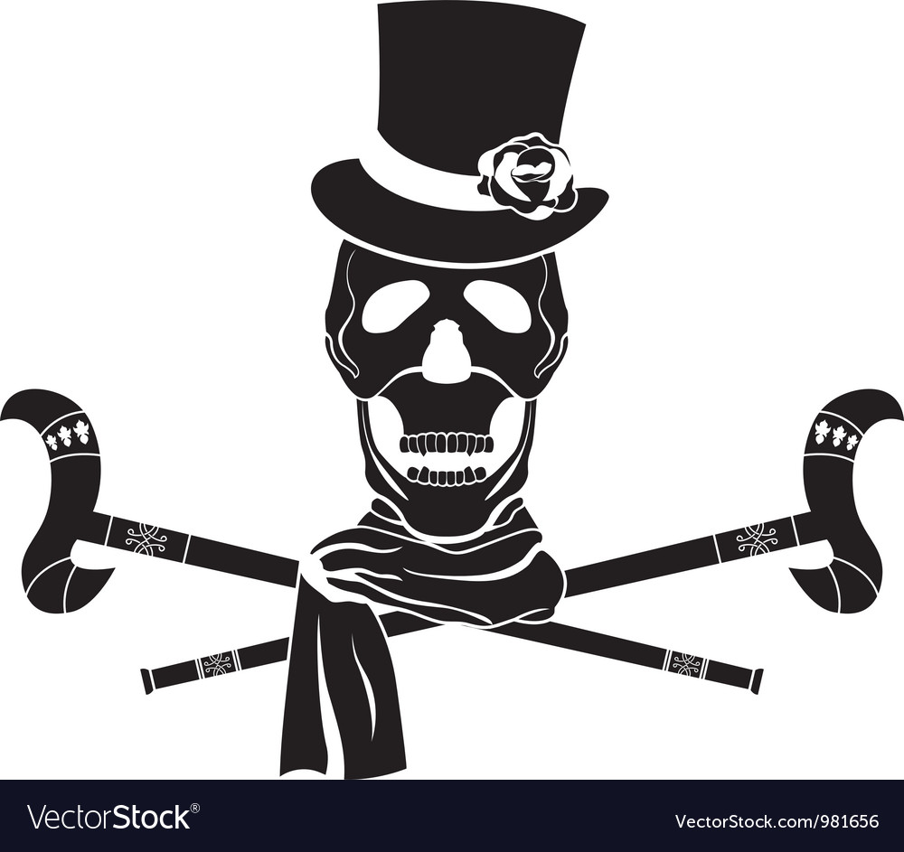 Skull dandy vector | Price: 1 Credit (USD $1)
