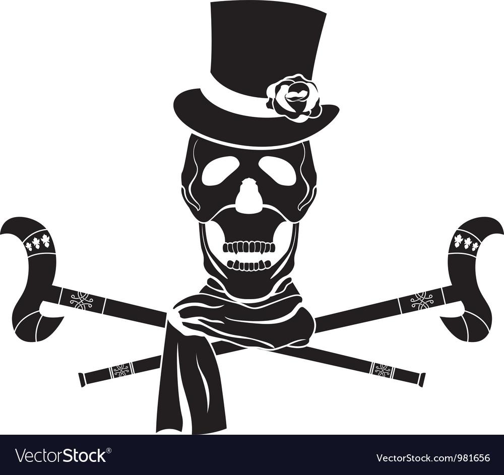 Skull dandy vector | Price: 1 Credit (USD $1)
