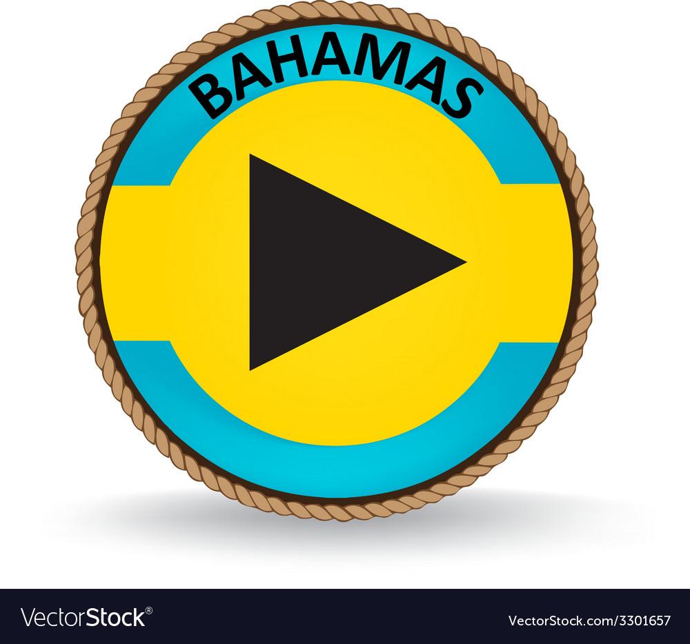 Bahamas seal vector | Price: 1 Credit (USD $1)