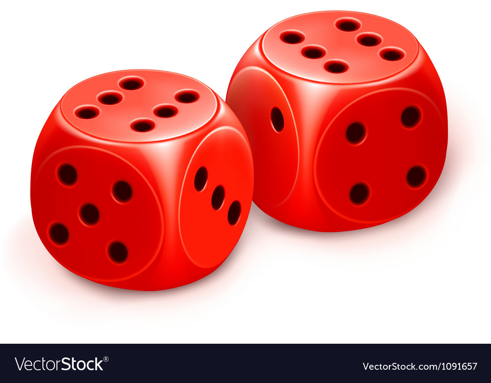 Dice icon vector | Price: 1 Credit (USD $1)
