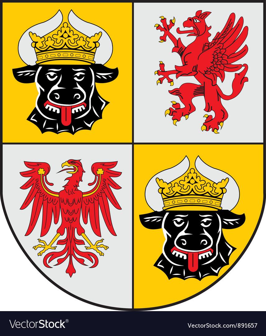 Mecklenburg coat-of-arms vector | Price: 1 Credit (USD $1)