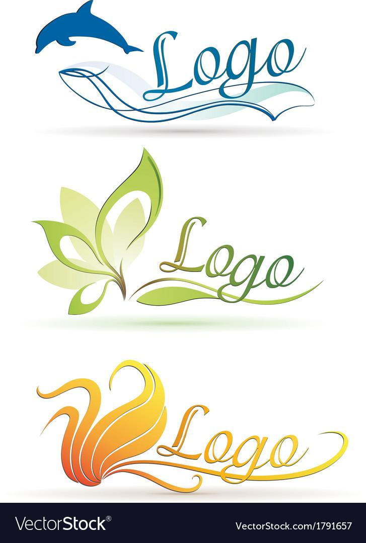 Nature logos vector   Price: 1 Credit (USD $1)