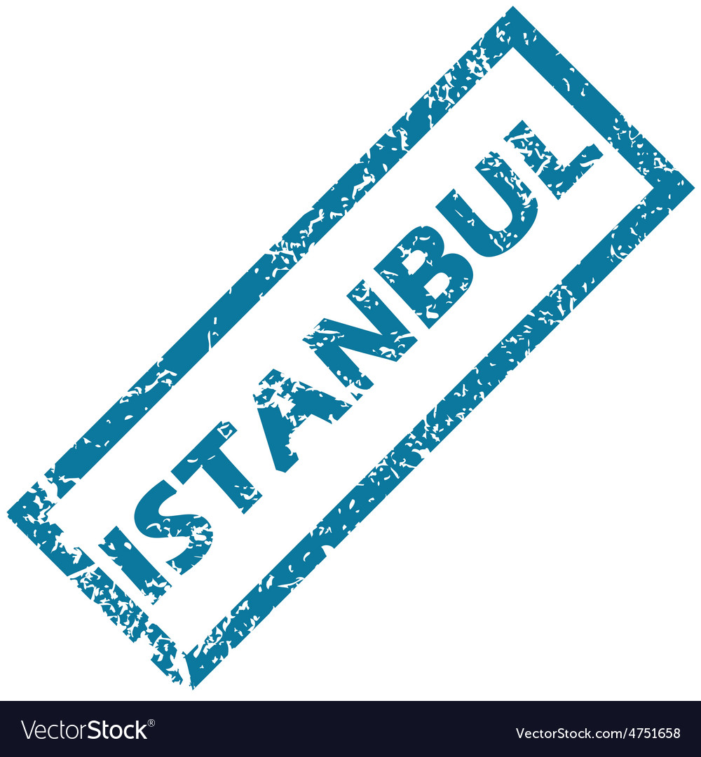 Istanbul rubber stamp vector | Price: 1 Credit (USD $1)