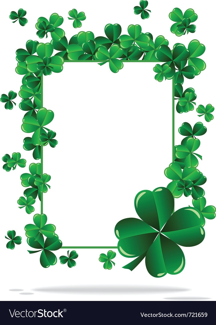 Greeting cards st patrick day vector | Price: 1 Credit (USD $1)