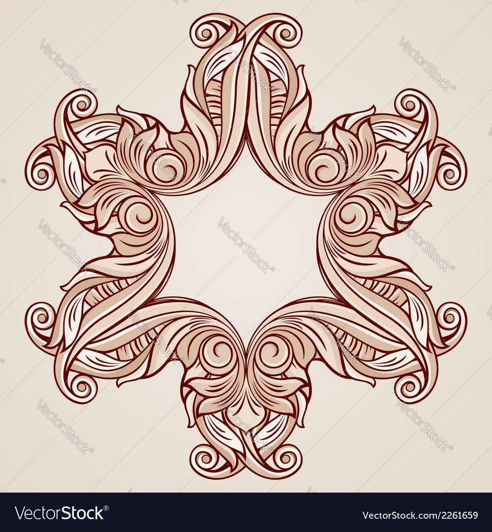 Rose pink floral pattern vector | Price: 1 Credit (USD $1)