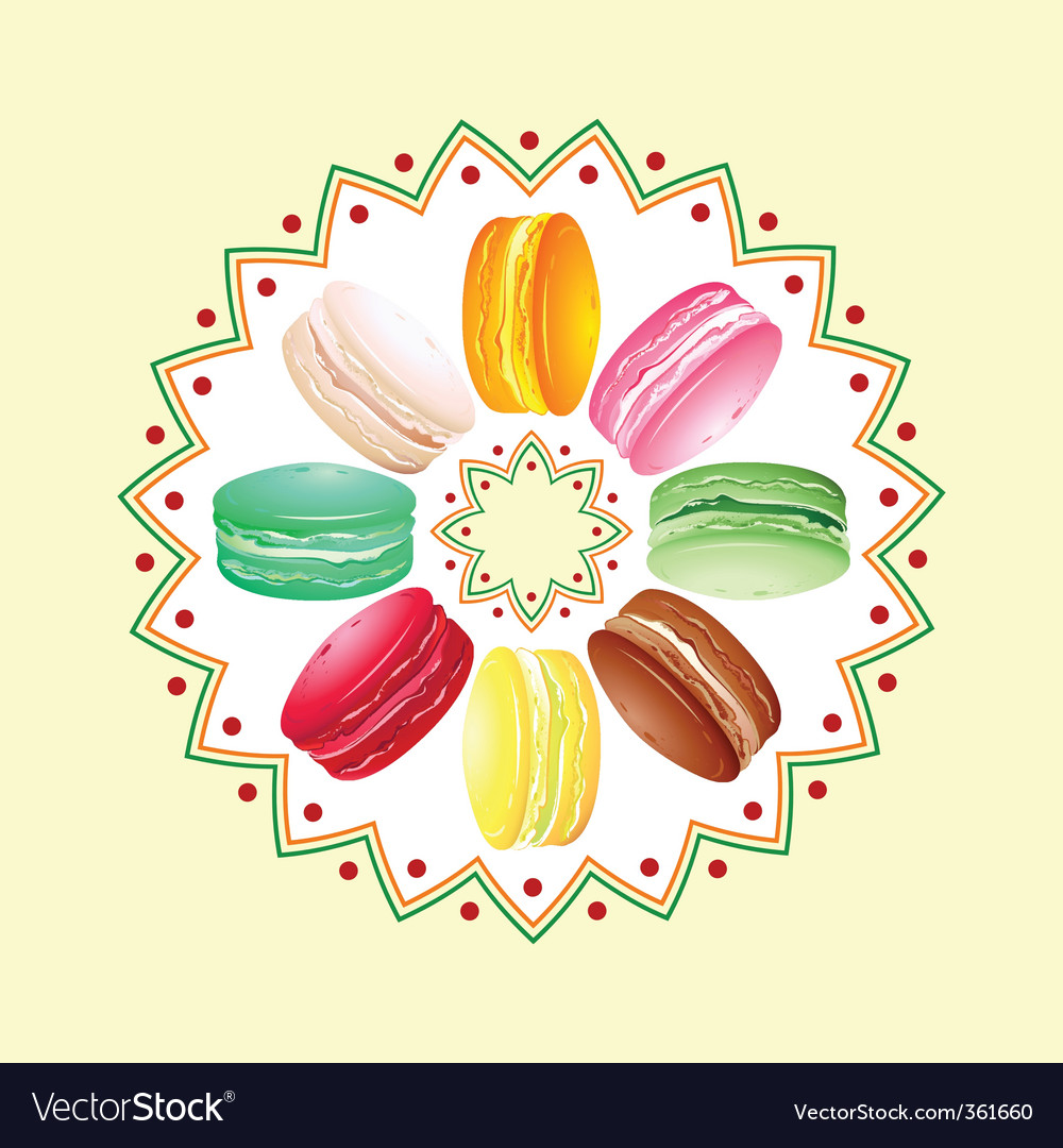 Macaroon twist vector | Price: 1 Credit (USD $1)