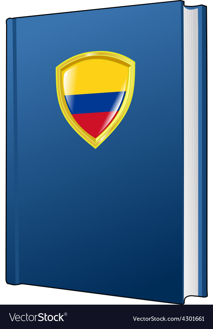 Constitution of colombia vector | Price: 1 Credit (USD $1)