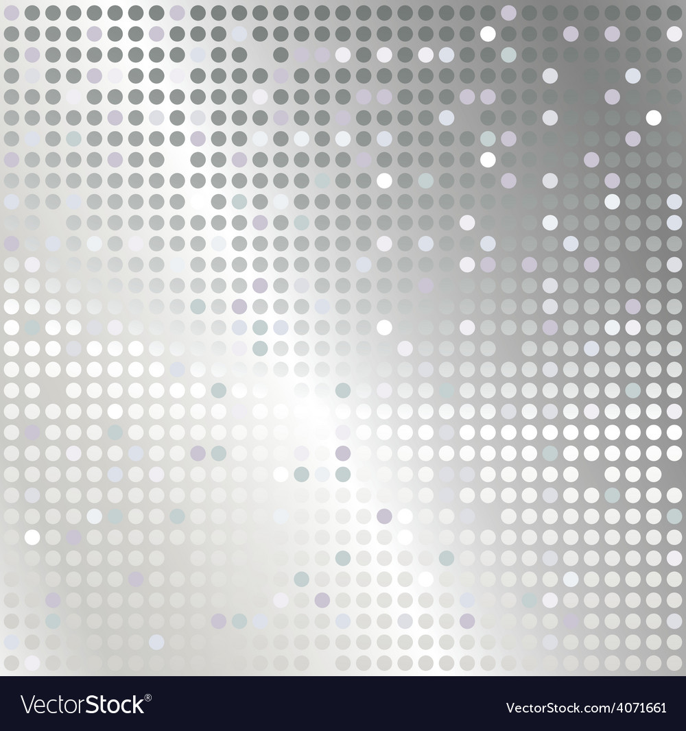 Silver mosaic abstract background vector | Price: 1 Credit (USD $1)