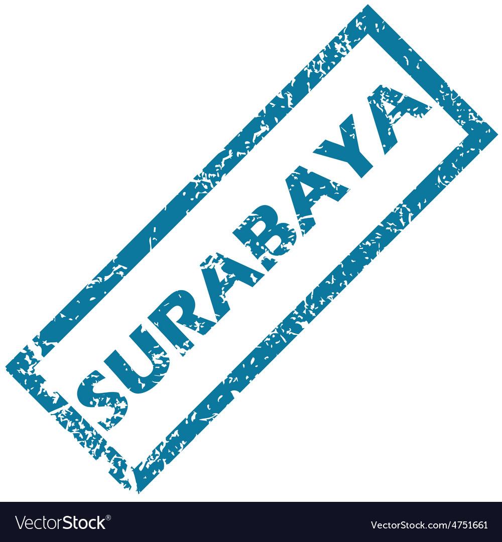 Surabaya rubber stamp vector | Price: 1 Credit (USD $1)