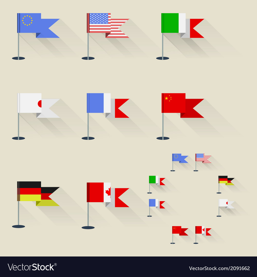 Pennants vector | Price: 1 Credit (USD $1)