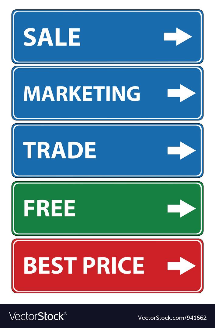 Set of sale vector | Price: 1 Credit (USD $1)