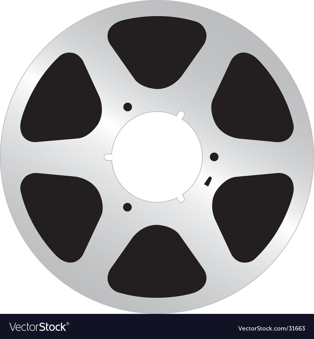 Analog tape reel vector | Price: 1 Credit (USD $1)