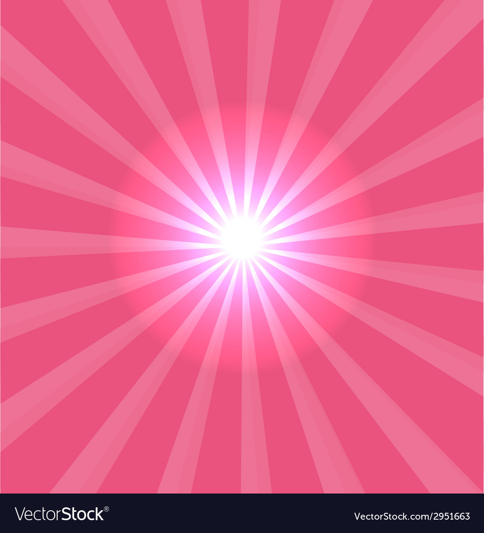 Pink background with lens flare vector | Price: 1 Credit (USD $1)