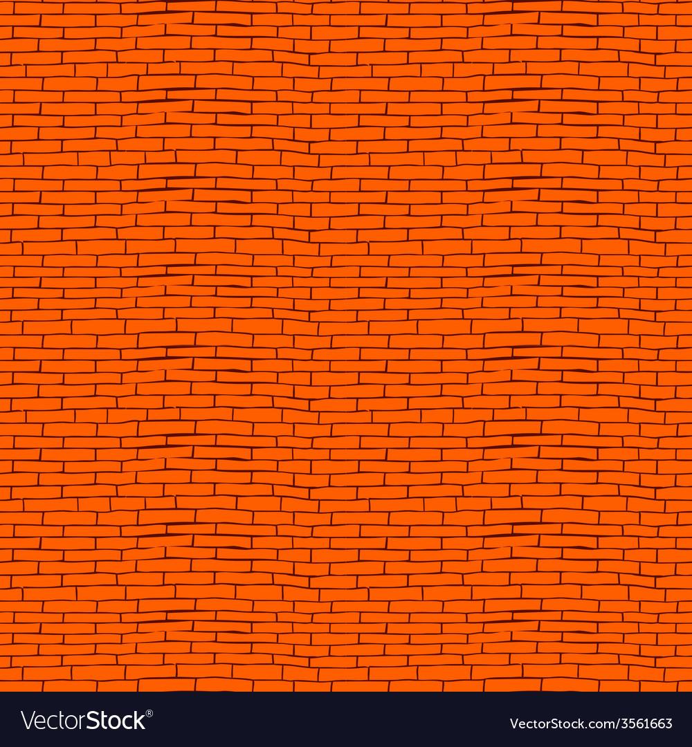 Seamless brick pattern vector | Price: 1 Credit (USD $1)