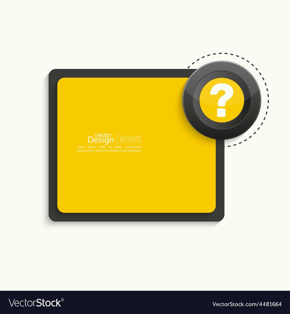 Question mark icon vector   Price: 1 Credit (USD $1)