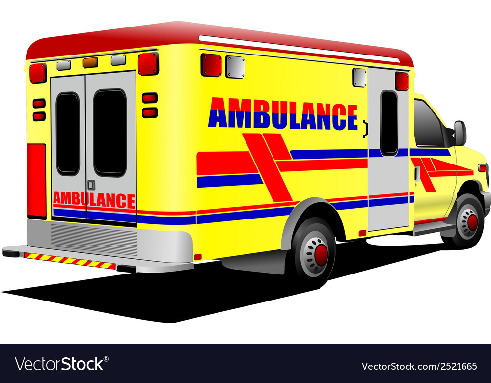 Al 0931 ambulance vector | Price: 1 Credit (USD $1)