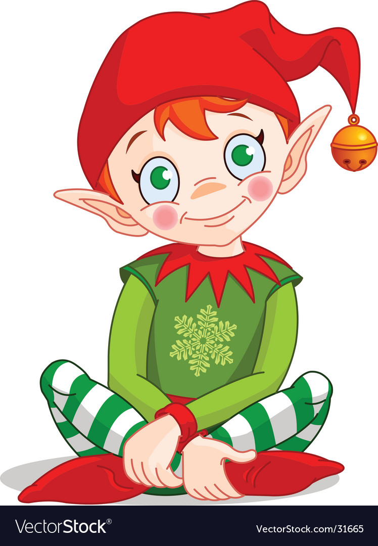Christmas elf vector | Price: 3 Credit (USD $3)