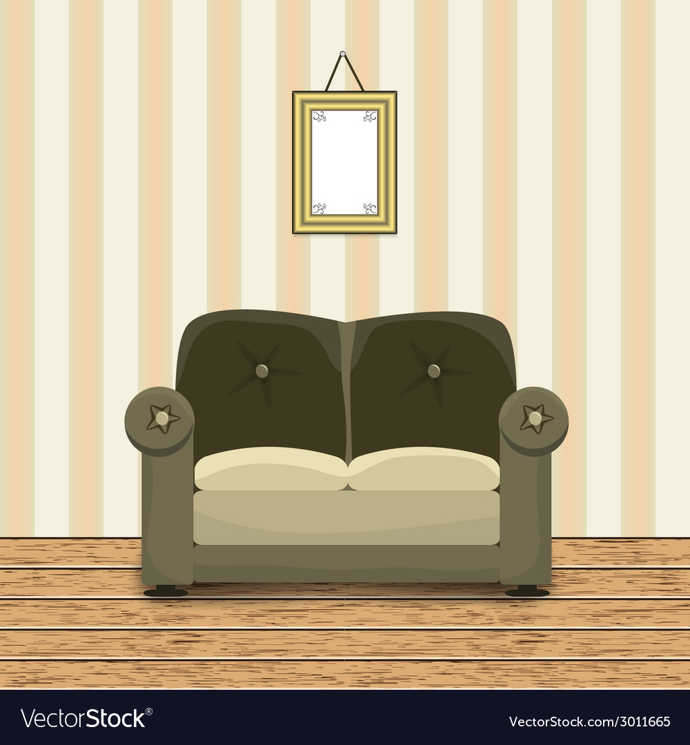 Interior of a room vector | Price: 1 Credit (USD $1)