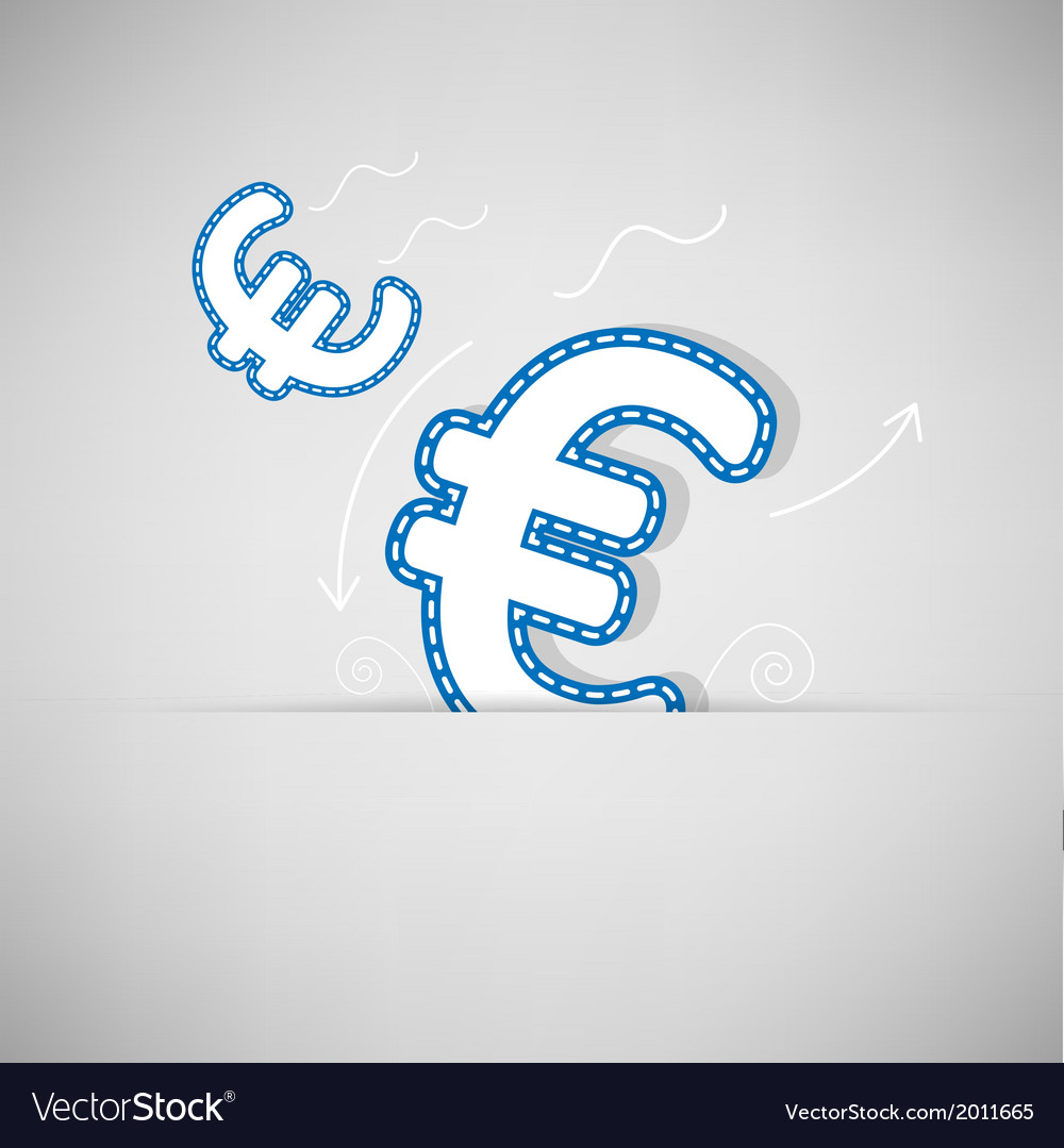 Money icon design on retro background vector | Price: 1 Credit (USD $1)