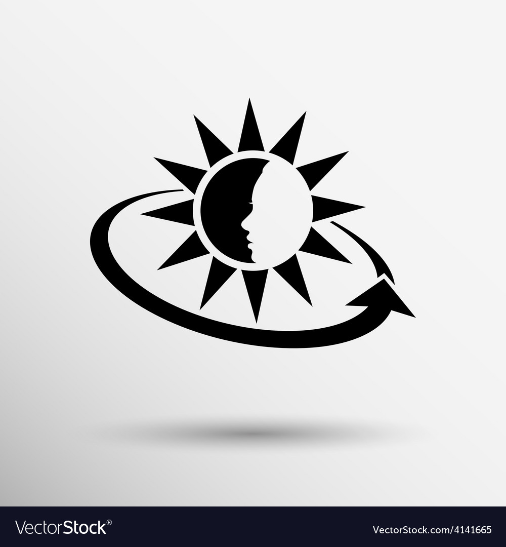 Sun cream containers icon sun vector   Price: 1 Credit (USD $1)